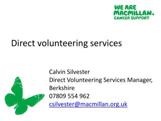 Direct volunteering services