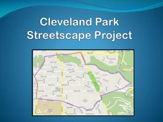Cleveland Park  Streetscape Project