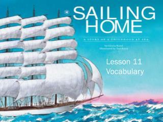 Lesson 2 Vocabulary