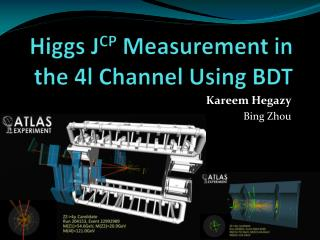 Higgs J CP  Measurement in the 4l Channel Using BDT