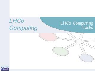 LHCb Computing Tasks
