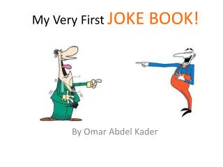 My Very First  JOKE BOOK!