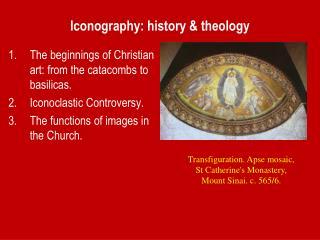 Iconography: history & theology