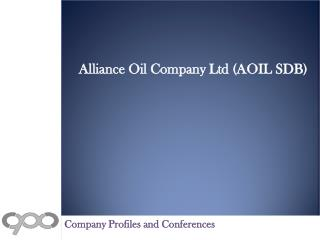 Alliance Oil Company Ltd (AOIL SDB) - Financial and Strategi