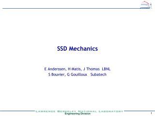 SSD Mechanics