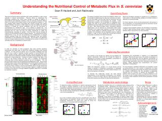 Understanding the Nutritional Control of Metabolic Flux in  S. cerevisiae