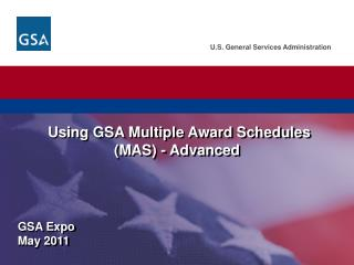 GSA Expo  May  2011