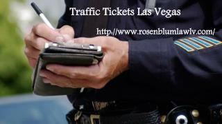 Traffic Ticket Las Vegas
