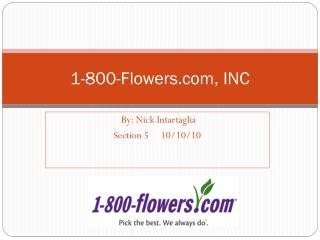 1-800-Flowers, INC