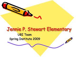 Jennie P. Stewart Elementary
