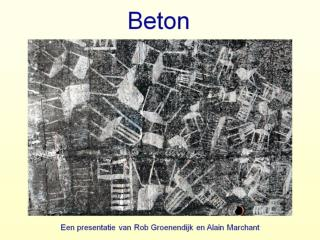 Reiniging methodes beton .