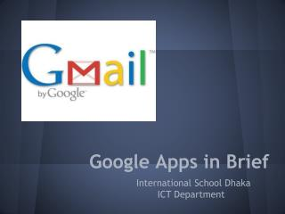 Google Apps in Brief