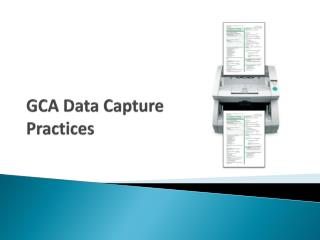 GCA Data Capture Practices