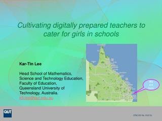 Cultivating digitally prepared teachers to cater for girls in schools