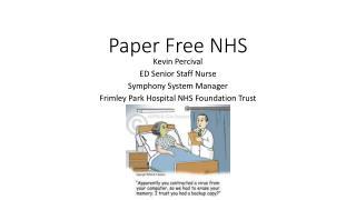 Paper Free NHS
