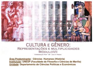 A Nova Hist ria Cultural Apresenta  o: Cl udio Travassos Delicato e Marcos Aparecido Fid ncio
