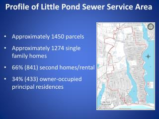 Profile of Little  Pond  Sewer Service Area