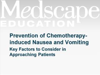 Prevention of Chemotherapy-induced Nausea and Vomiting