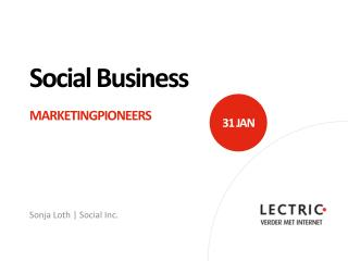 Social Business Marketingpioneers