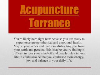 Santa Monica Acupuncturist