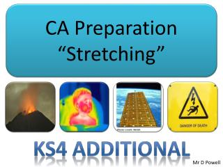 "CA Preparation ""Stretching"""