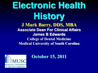 Electronic Health History