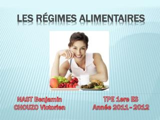 Les r�gimes alimentaires