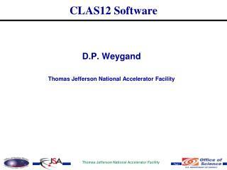 CLAS12 Software