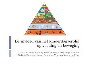 De invloed van het kinderdagverblijf op voeding en beweging