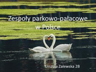 Zespoły parkowo-pałacowe w Polsce