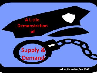 A Little      Demonstration                 of Supply &        Demand