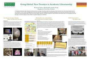 Thinking Diversely, Acting Globally International Book Exchange Program