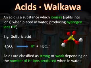 Acids ∙  Waikawa