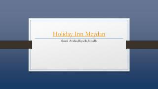 Holiday Inn Meydan Riyadh