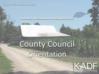 Governor�s Office of Agricultural Policy