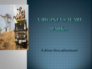 VIRGINIA SAFARI PARK…