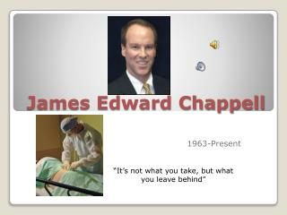 James Edward Chappell