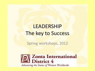 LEADERSHIP The key to Success