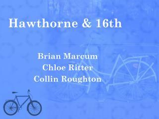 Hawthorne & 16th