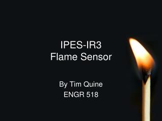 IPES-IR3  Flame Sensor
