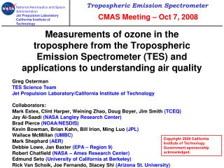 Measurements of ozone in the troposphere from the Tropospheric Emission Spectrometer TES and applications to understandi
