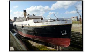 P4 Visit to SS Nomadic