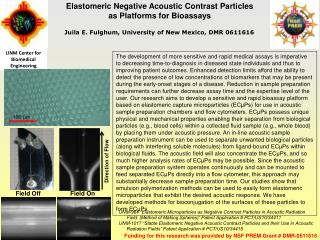 Elastomeric Negative Acoustic Contrast Particles as Platforms for Bioassays