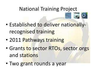 National Training Project