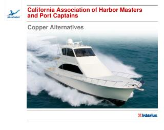 California Association of Harbor Masters and Port Captains