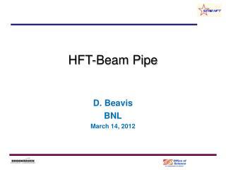 HFT-Beam Pipe