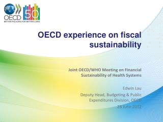 OECD experience on fiscal sustainability