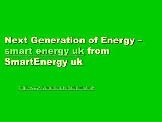 Smart Energy UK