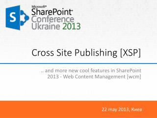 Cross Site Publishing [XSP]