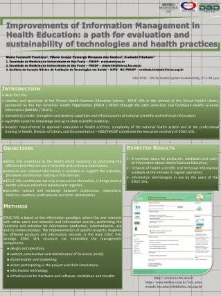 HTAi  2011 - HTA for  Health  System  Sustainability , 27 a 29  june